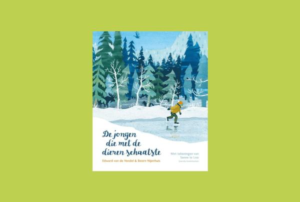 Boekbespreking De jongen die met de dieren schaatste - Casperle