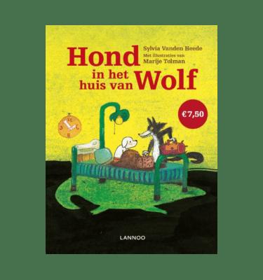 Hond in het huis van Wolf
