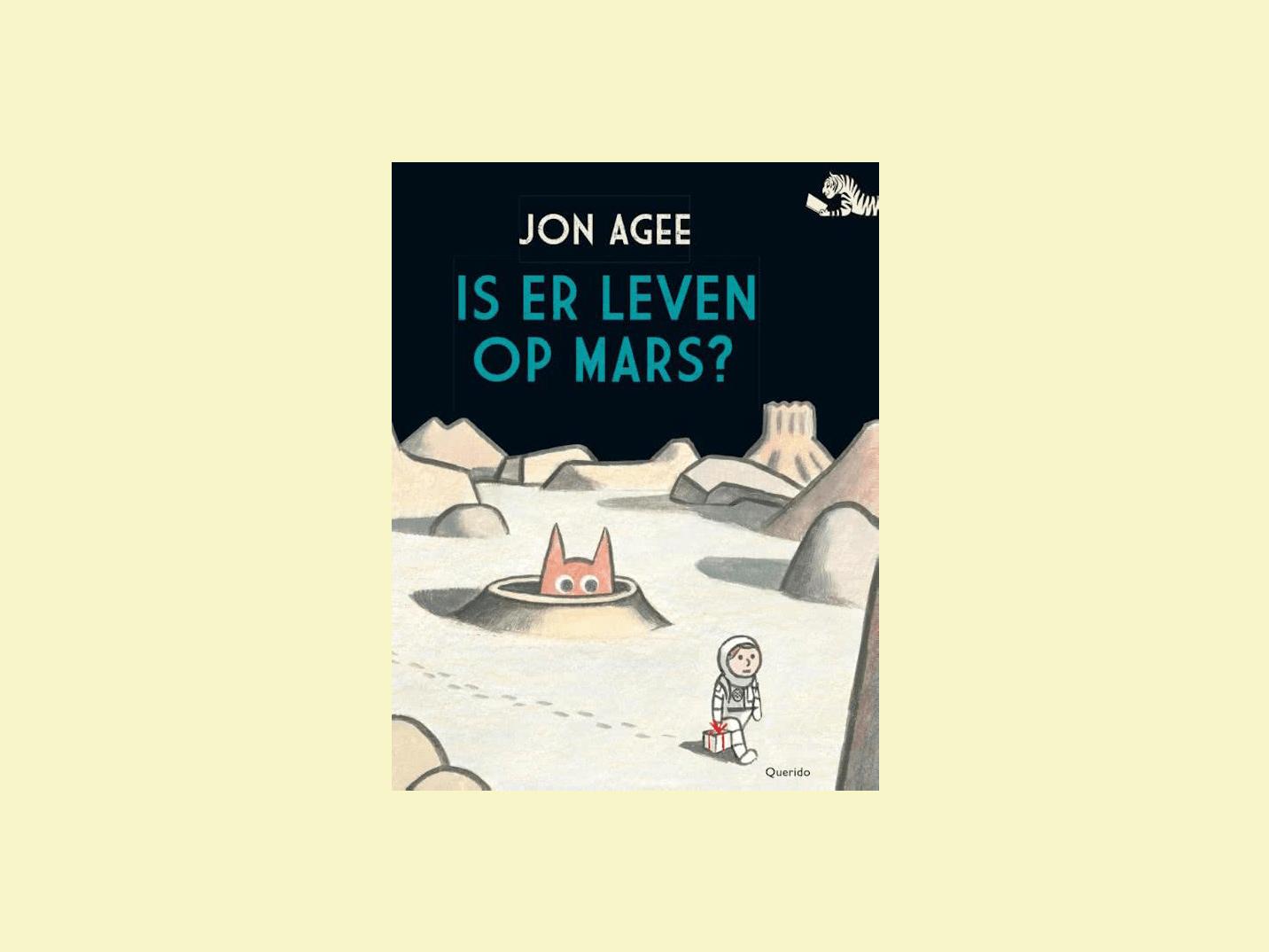 Boekbespreking is er leven op Mars?