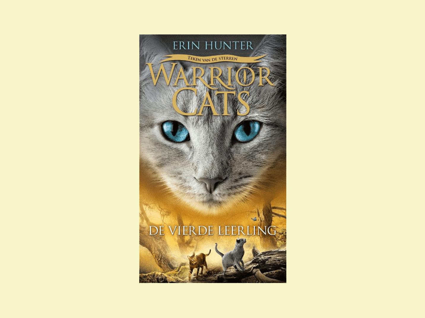 Boekbespreking Warrior Cats serie 4-1 de vierde leerling
