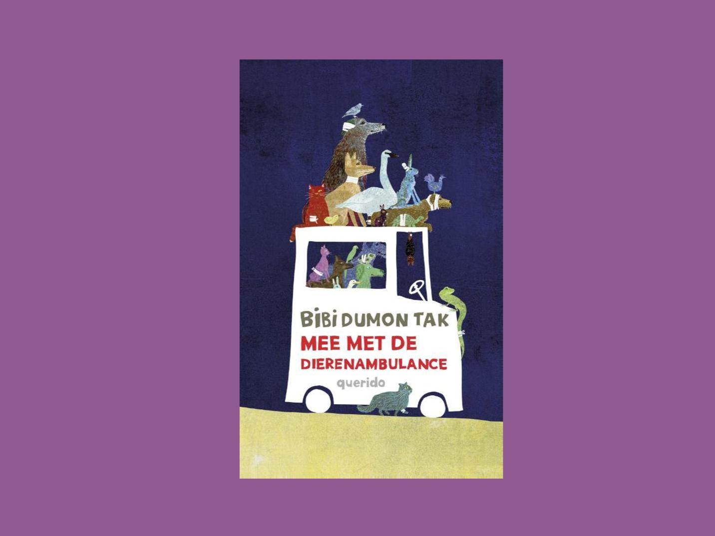 Boekbespreking Mee met de dierenambulance