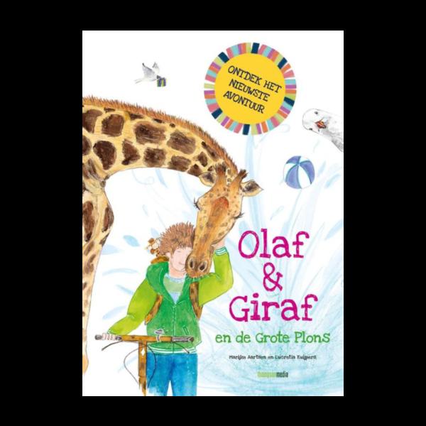 Olaf en Giraf en de grote plons Marijke Aartsen Srah Schenk Thompson Casperle