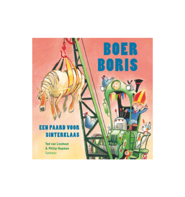 Boer Boris Paard voor Sinterklaas Ted van Lieshout