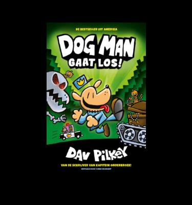 Dog man gaat los Pilkey Casperle