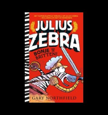 Julius Zebra Bonje met de Britten Gary Northfield