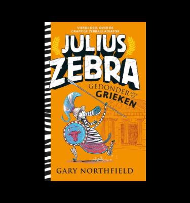 Julius Zebra Gedonder met de Grieken Gary Northfield