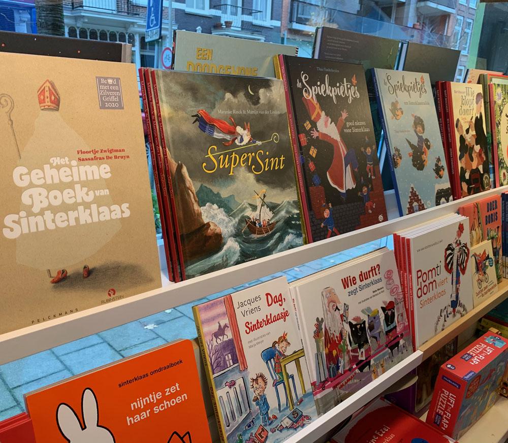 Sinterklaasboeken bij Casperle