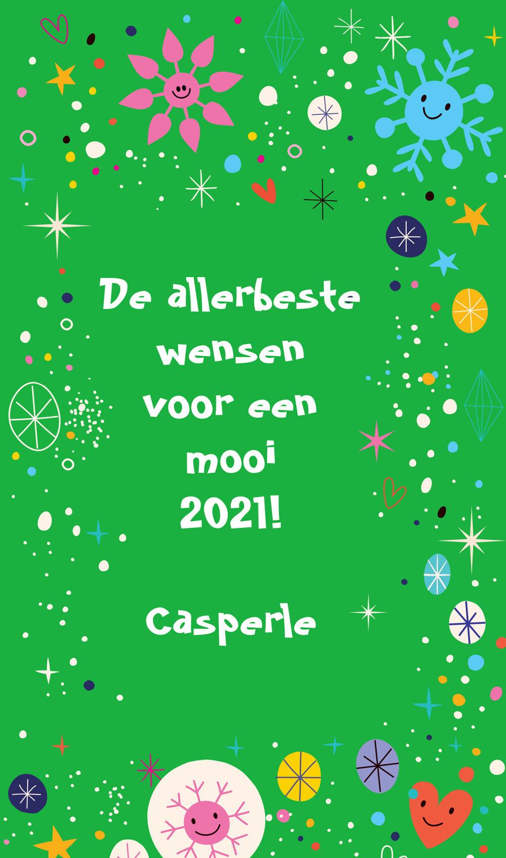 De beste wensen voor een mooi 2021!