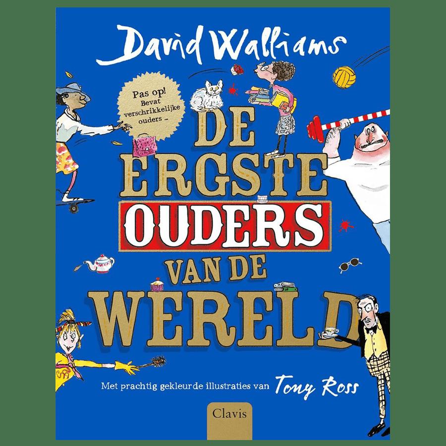 De ergste ouders van de wereld - David Walliams - Casperle kinder- en  Jeugdboeken