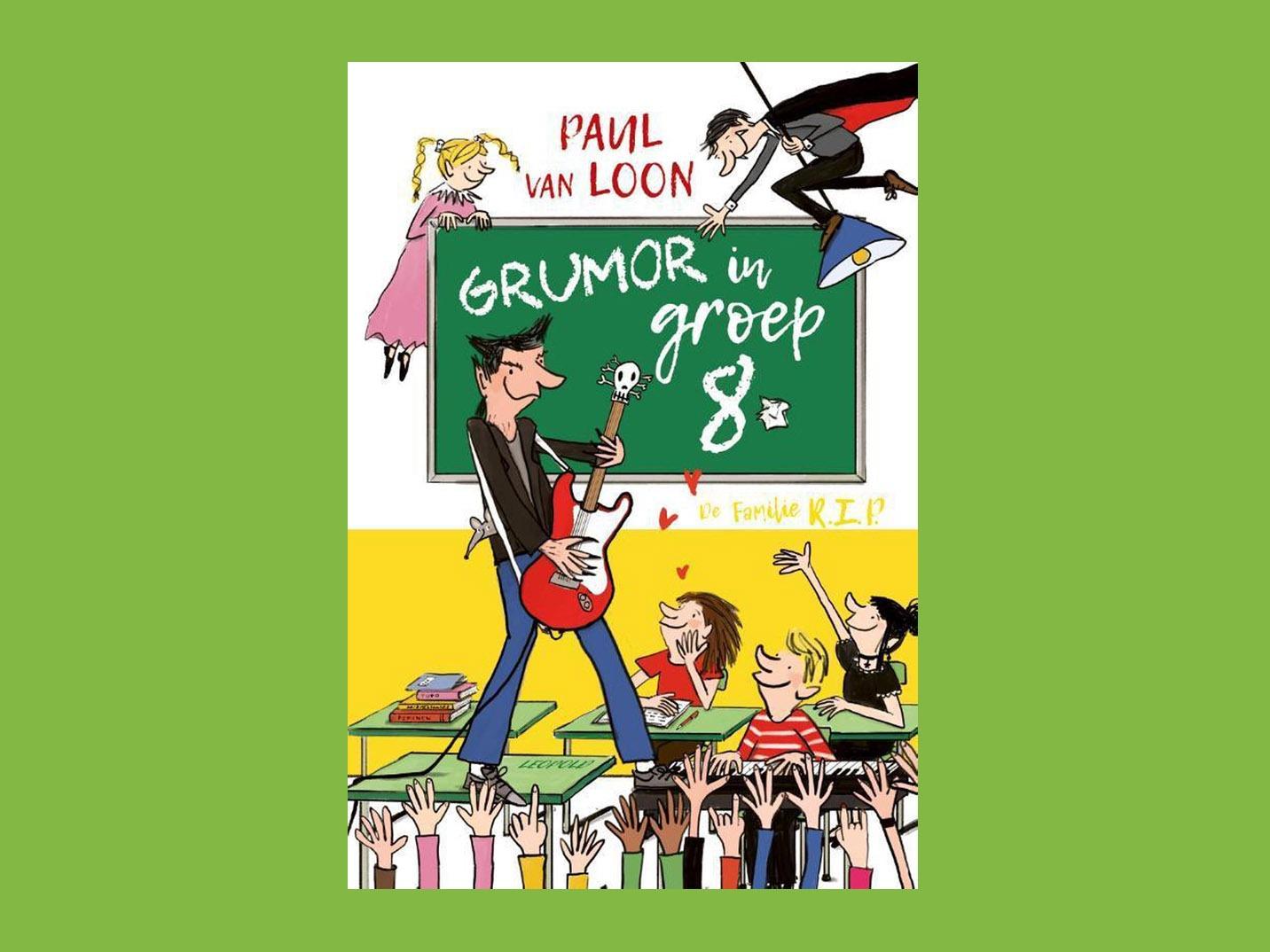 Boekbespreking Grumor in groep 8